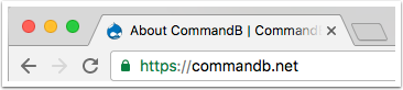 CommandB.net | HTTPS indicator